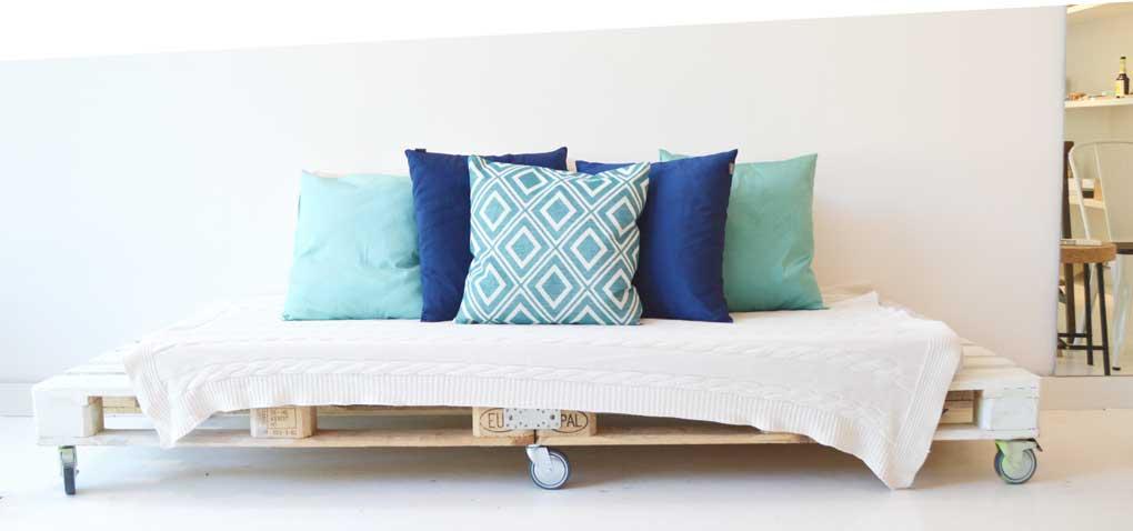 Shuffleheader Sofa Palette Couch Handmade