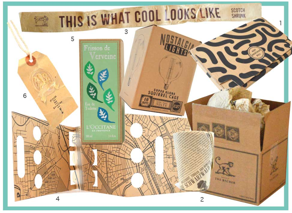 A Trend Spotting kraft paper Packaging