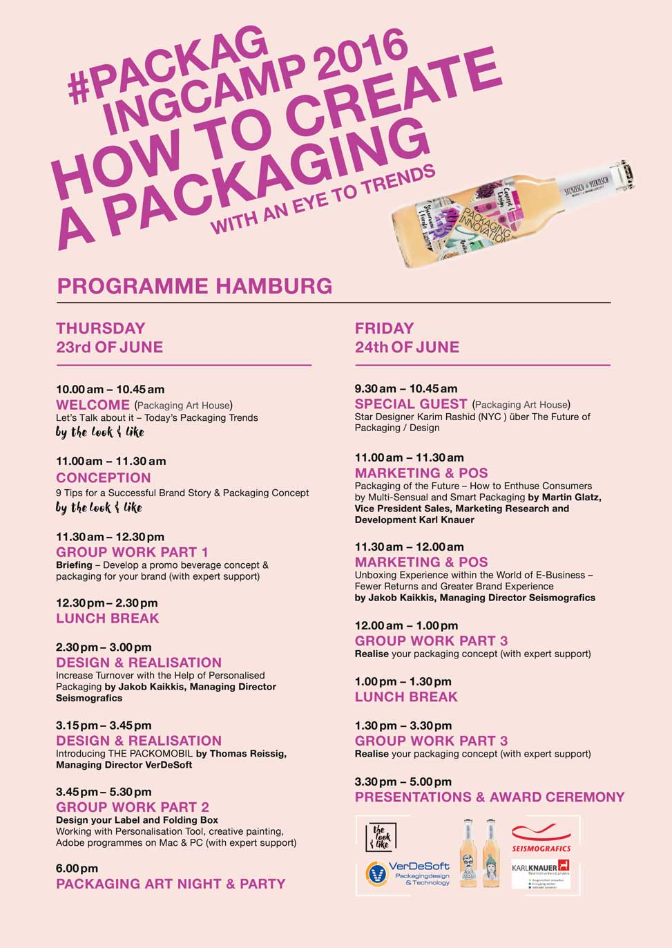 PackagingCamp Programme HH MAX