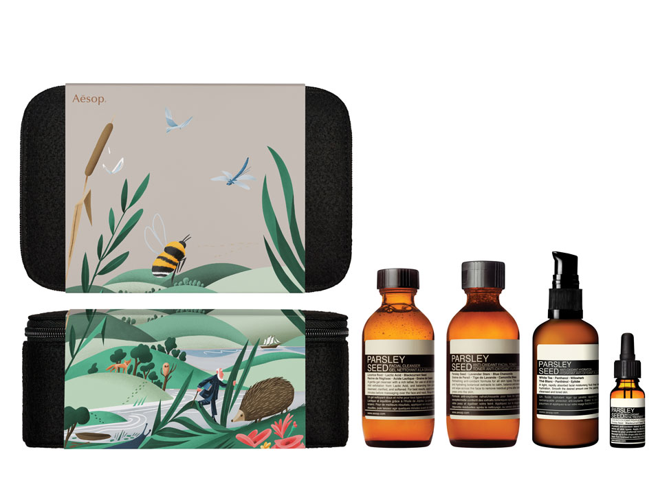 AESOP GIFT KITS 2016 2017 INTENT OBSERVER WITH PRODUCT 1 C
