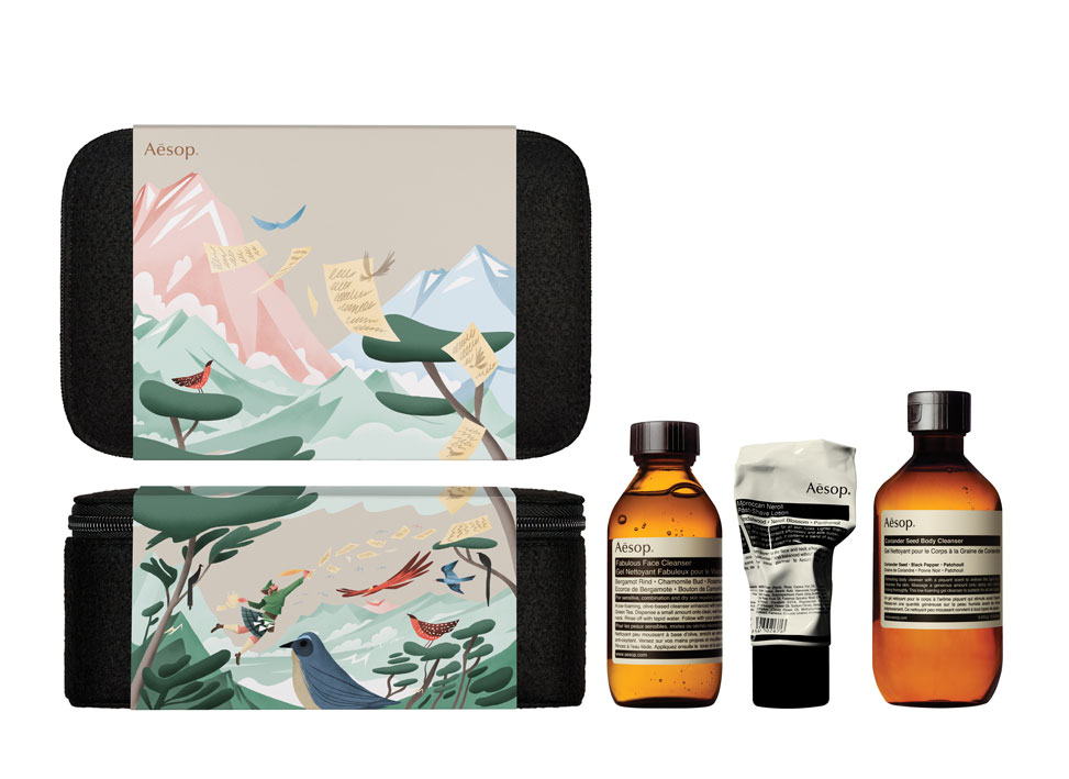 AESOP GIFT KITS 2016 2017 INTREPID GENT WITH PRODUCT 1 C
