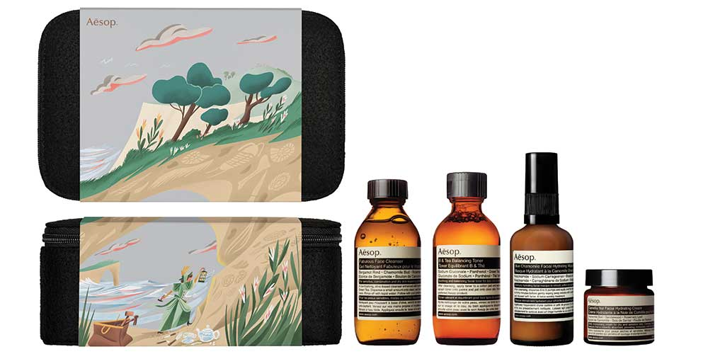 AESOP GIFT KITS 2016 2017 PERSISTENT COLLECTOR WITH PRODUCT 1 C 1000x500px