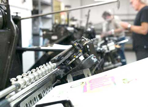 Letterjazz Letterpress Maschine Presse DOUBLE